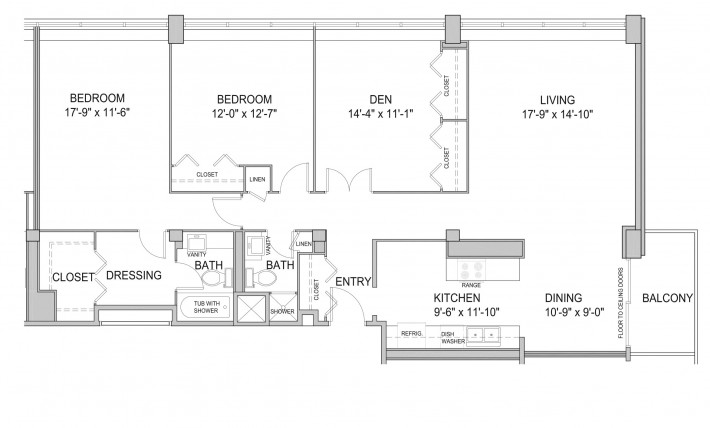 Three Bedroom 3D