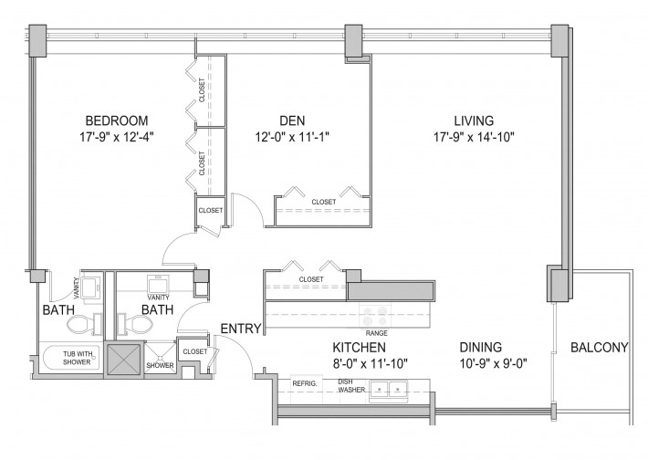 Two Bedroom 2D