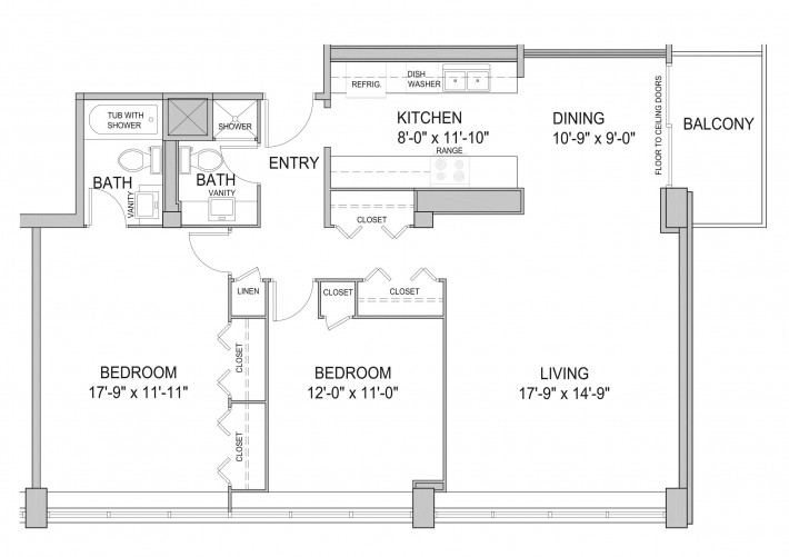 Two Bedroom 2E